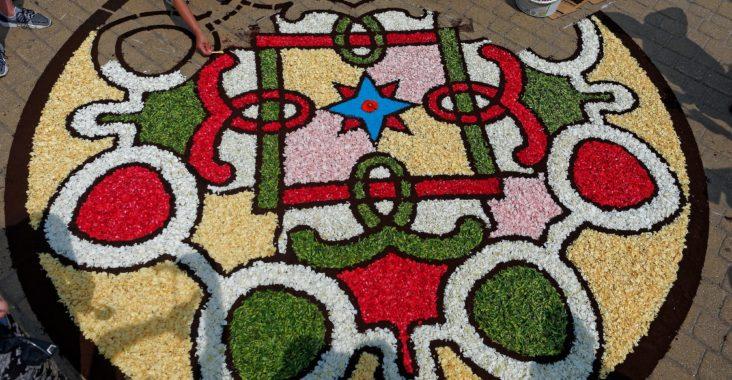 Dywany Kwiatowe Na Boże Ciało 2019